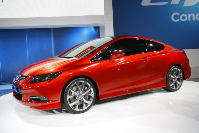 Фото Honda Civic Coupe Concept