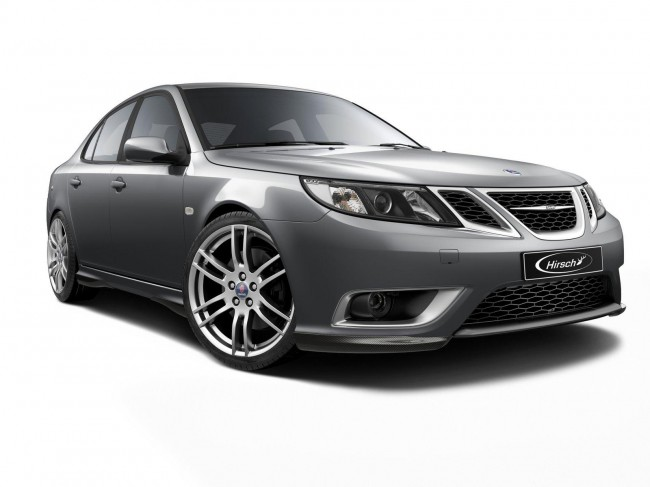 Фото тюнинг седана Saab 9-3 от Hirsch Performance