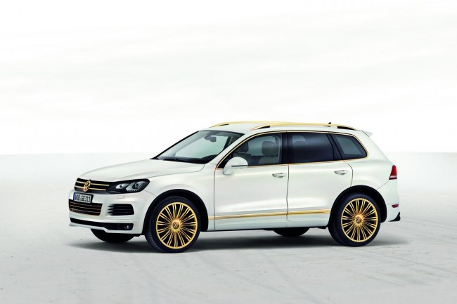 Фото концепта VW Touareg Gold Edition