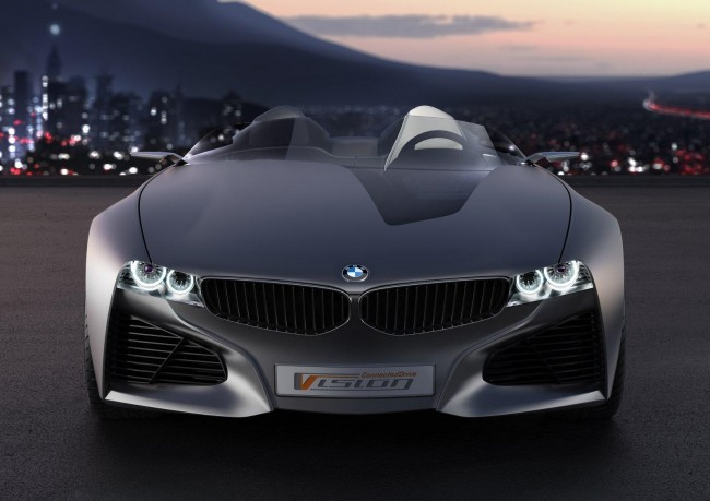 Концепт родстера BMW Vision Connected Drive