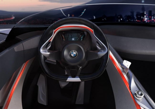 Фото салона BMW Vision Connected Drive