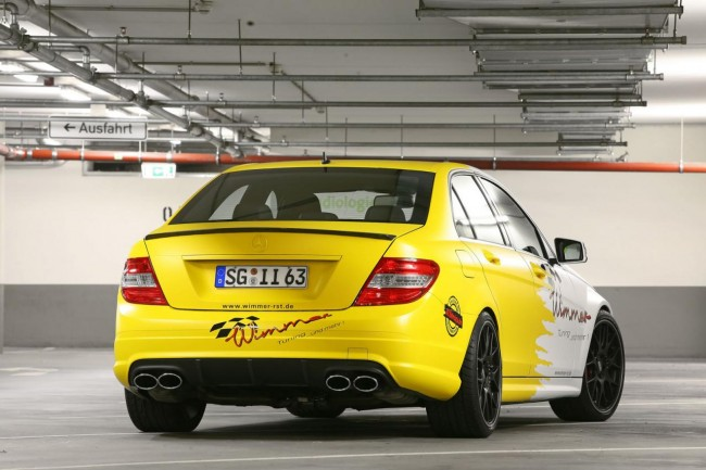 Пакет Full Force для C63 AMG от Wimmer RS