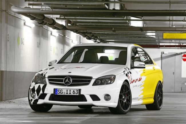 Mercedes C63 AMG Full Force от ателье Wimmer RS