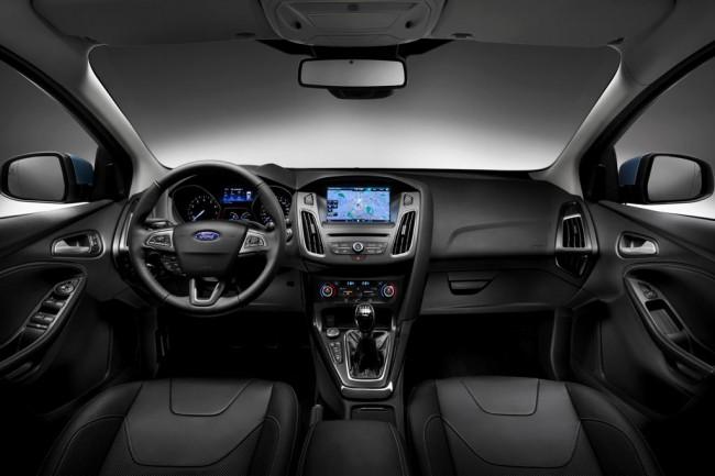 Салон Ford Focus III рестайлинг