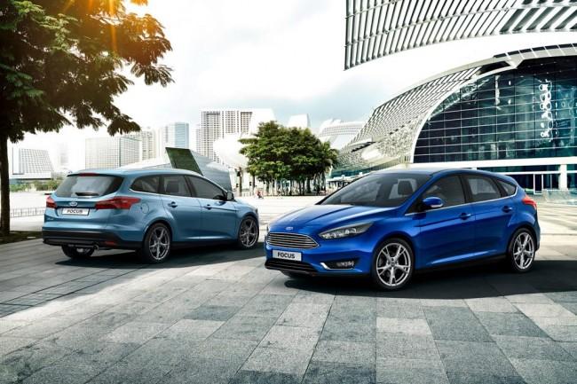 Обновленный Ford Focus III 2015