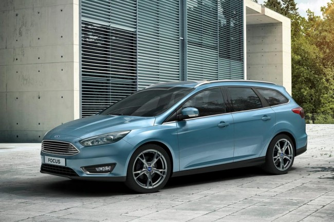 Ford Focus 3 Wagon 2015 фото