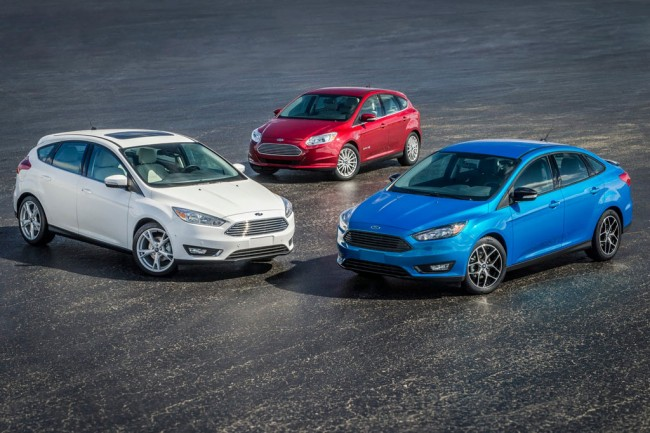 Новые Форд Фокус 2015 года