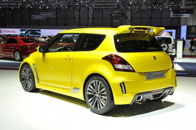 Suzuki Swift S-Concept на автосалоне в Женеве