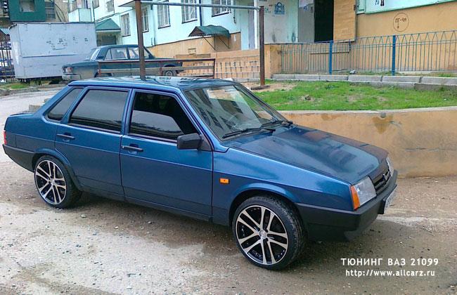 Тюнинг ВАЗ 2108-21099: www.allcarz.ru/vaz-21099-tuning/08-tuning-vaz-2108-21099