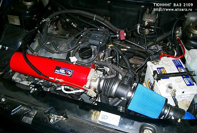 Тюнинг мотора ВАЗ 2109