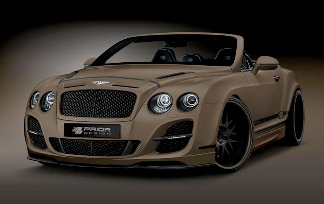 Обвес High Society для Bentley Continental GTC