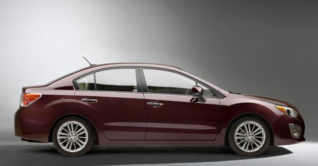 Тизер новой Subaru Impreza 2012