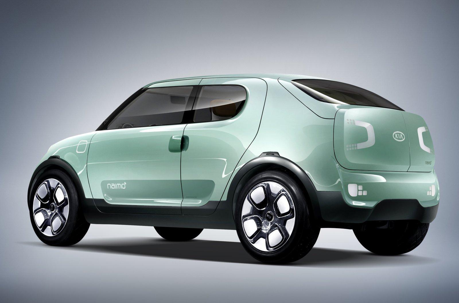 Kia представила в Сеуле электрический Naimo concept
