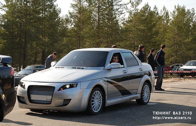 Смотрите фото тюнинговых Lada 2110