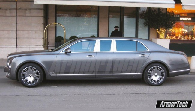 Лимузин на базе Bentley Mulsanne фото