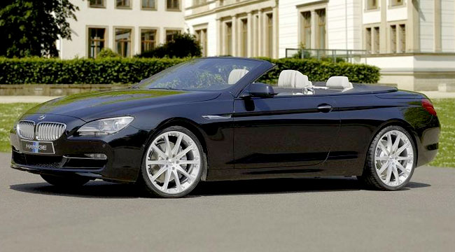 BMW 6-Series Convertible от ателье Hartge