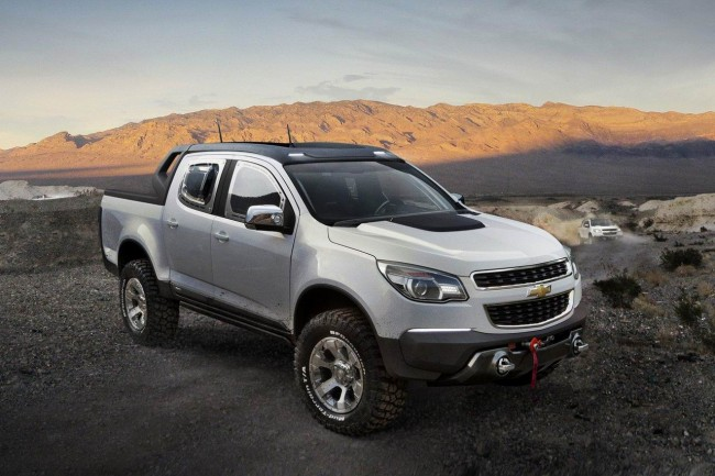 GM представил Chevrolet Colorado Rally Concept
