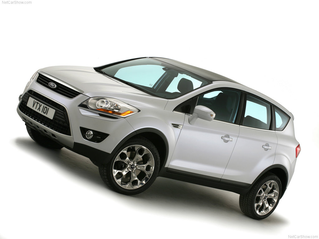 Задиристый Ford Kuga (Ford …