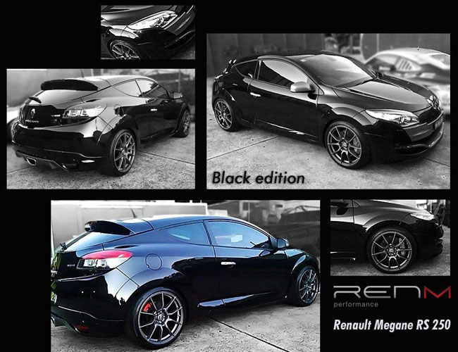 RENM RS 250 Black Edition на базе Renault Megane RS