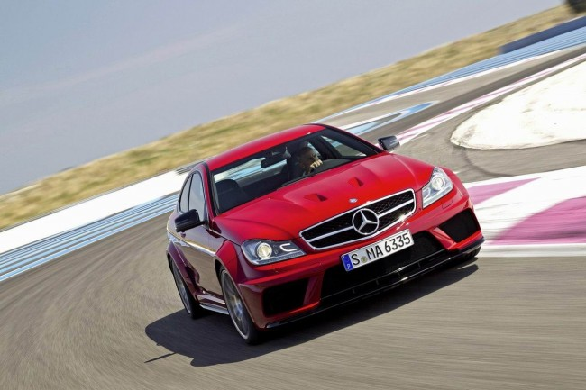 Mercedes C63 AMG Coupe Black Series фото