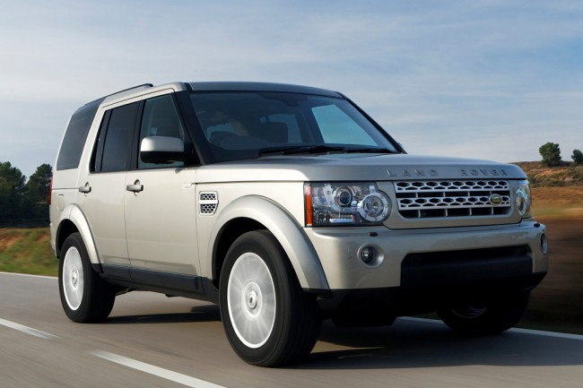 Land Rover Discovery 4 фото