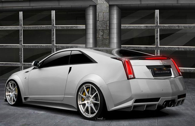 Hennessey Twin-Turbo V1000 CTS-V Coupe