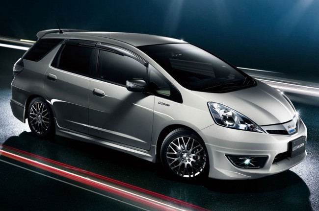 Обвес для Honda Fit Shuttle от Mugen