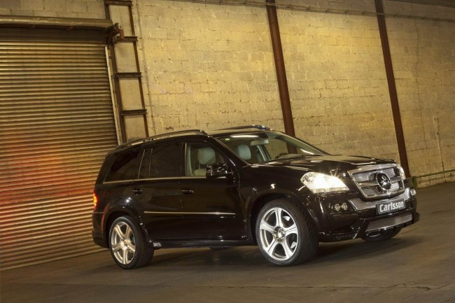 Тюнинг Mercedes-Benz GL от ателье Carlsson