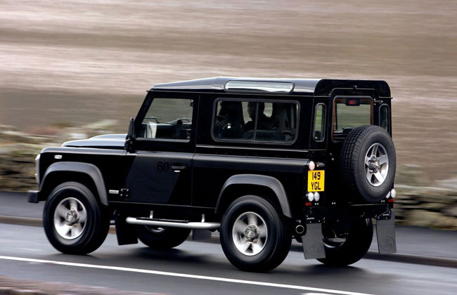 Land Rover Defender SVX Special Edition