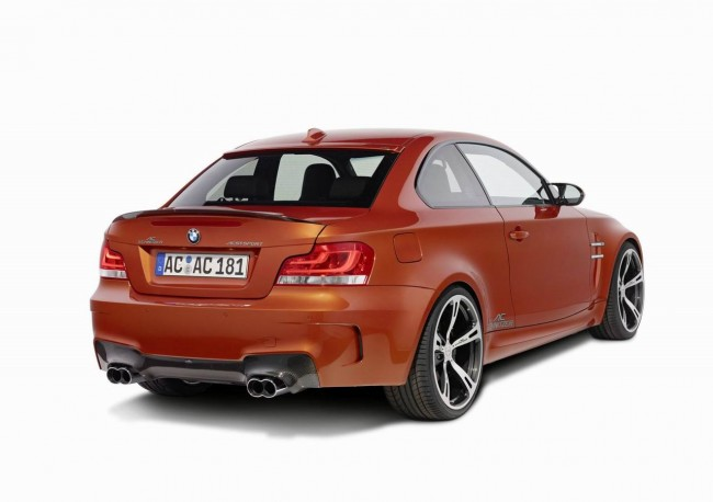 Тюнинг BMW 1-Series M Coupe от AC Schnitzer