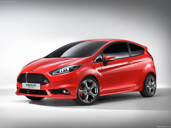 Ford Fiesta ST Concept фото