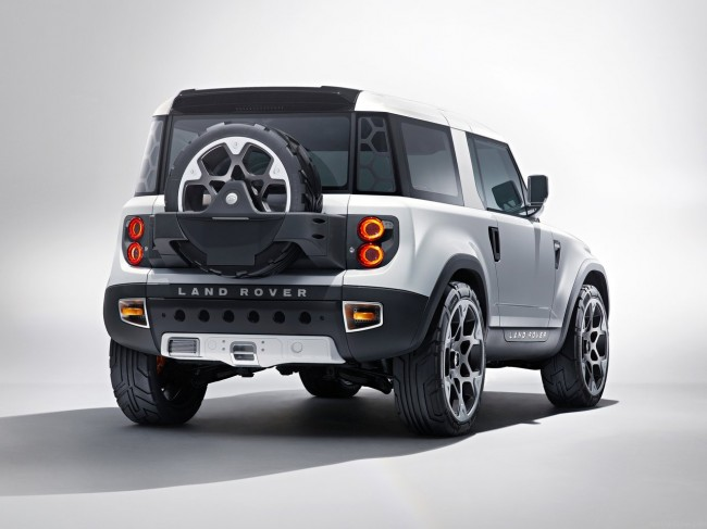 Фото Land Rover DC100 Concept