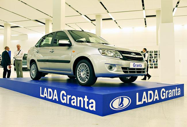 Lada Granta (Лада Гранта) седан купить в Украине.
