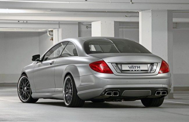 Фото тюнинг Mercedes-Benz CL63 AMG