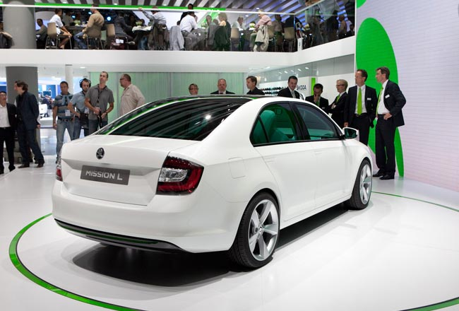 Skoda MissionL Concept во Франкфурте