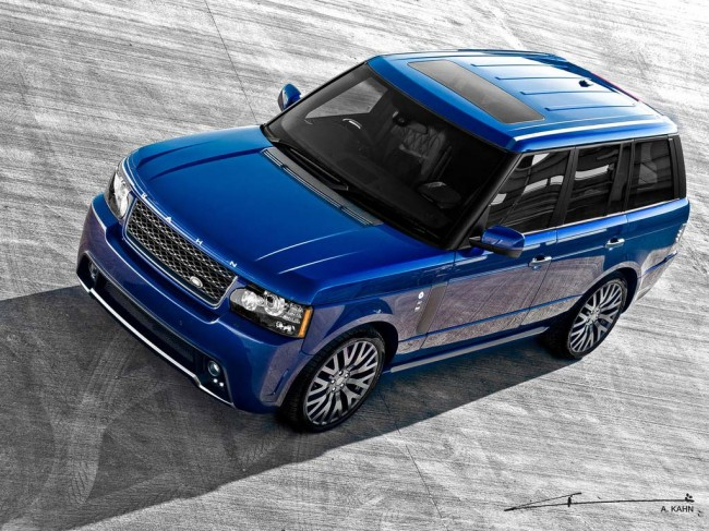 Bali Blue RS450 Kahn 4.4 на базе Range Rover Vogue