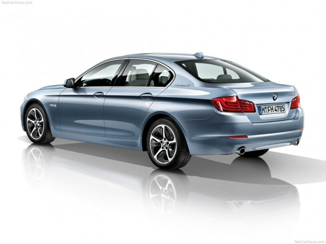 Фото гибридной bmw 5 activehybrid