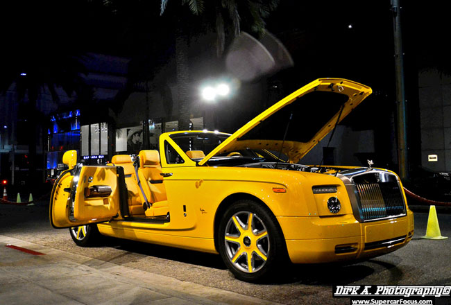 Фото Rolls-Royce Drophead Coupe Bijan Edition