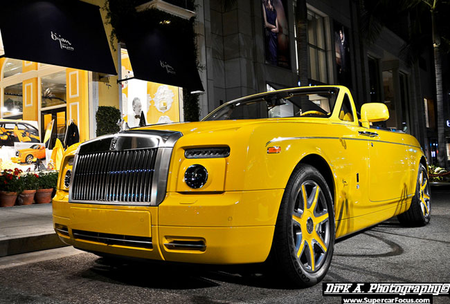 Эксклюзивный Rolls-Royce Drophead Coupe Bijan Edition