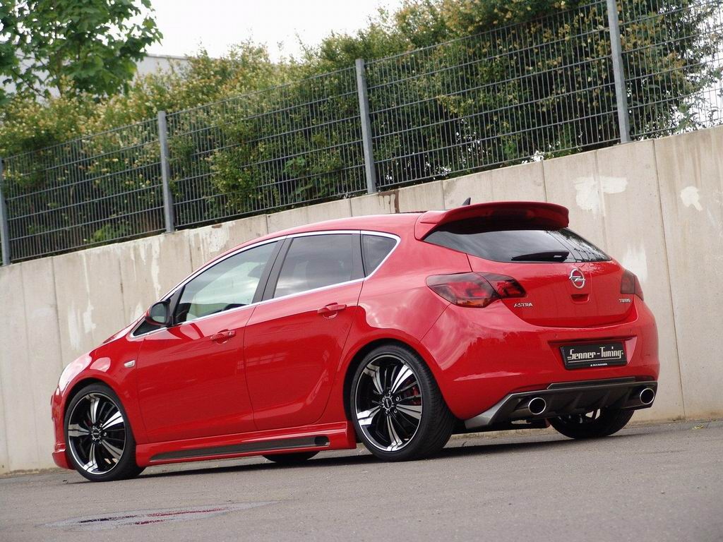 Opel Astra J в тюнинге Senne…