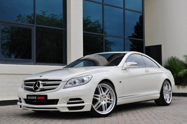 BRABUS 800 Coupe на базе Mercedes-Benz CL 600