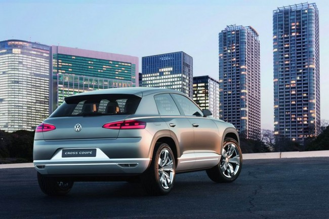 Volkswagen представил Cross Coupe Concept