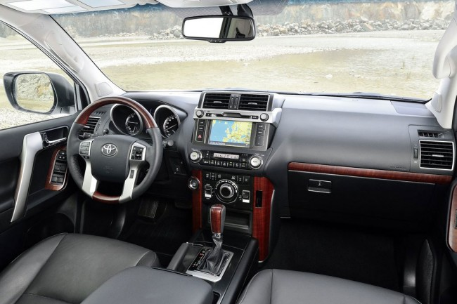 Toyota Land Cruiser Prado 150 2016 2017