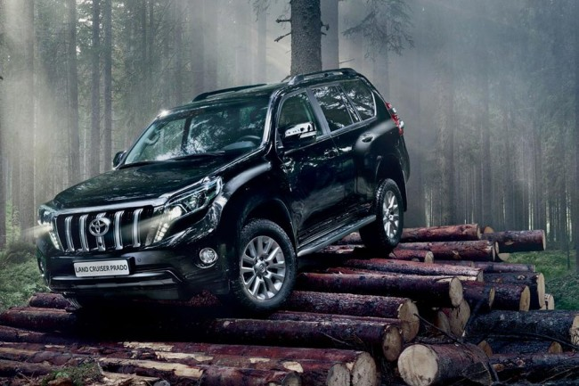 Обновленный Toyota Land Cruiser Prado 2016