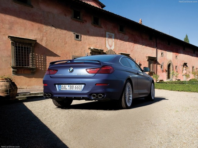 Новая BMW Alpina B6 Bi-Turbo Coupe 2012