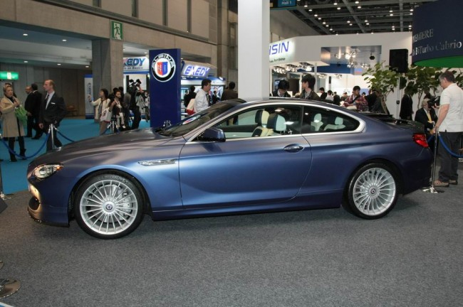 2012 Alpina B6 Bi-Turbo Coupe на базе BMW 650i