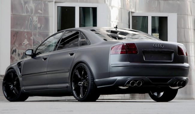 Audi S8 Grey Edition от ателье Anderson Germany