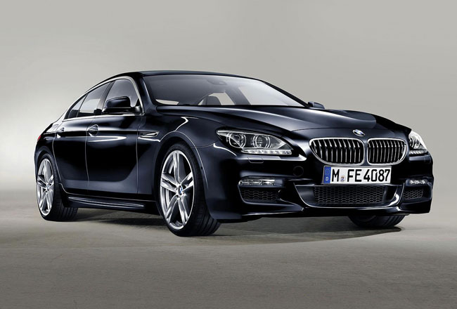Первое фото BMW 6-Series Gran Coupe M Sport Pack