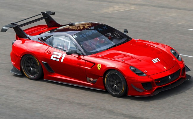 Ferrari 599XX Evolution Pack