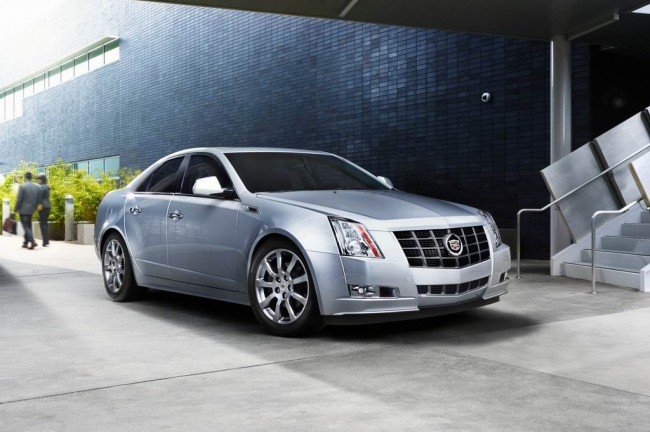 Cadillac CTS 2012 получил пакет Touring